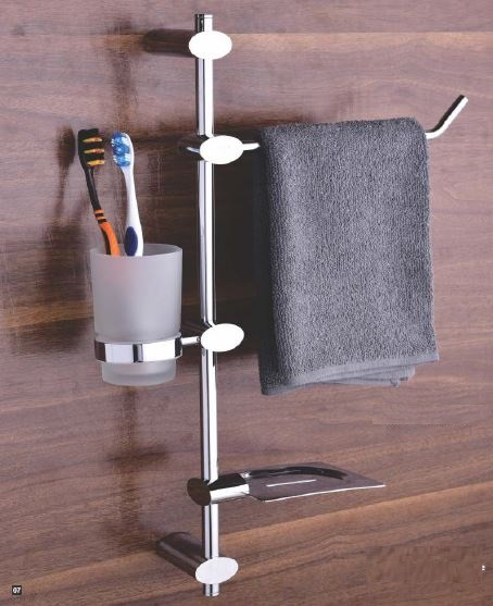 Fab Bathroom Accessories Drizzle Series