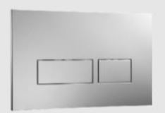 American Standard Flush Plates - Actuator Plate A1325A Chrome