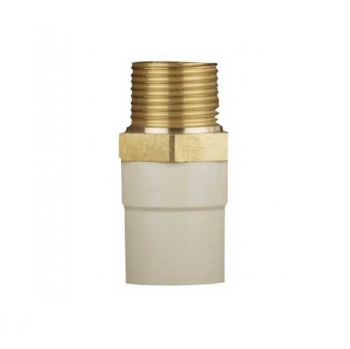 Ashirvad CPVC Male Adapter Brass Thread