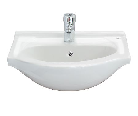 Cera Wash Basin Semi Recessed Cabinet 500X420