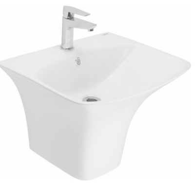 Cera Wash Basin Thin Rim 1Piece Claus 565x460x395