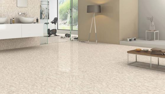 Simpolo Vitrified Tile Double Charge Oceano Choco 1500x800