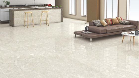Simpolo Vitrified Tile Double Charge Perlato White 1500x800