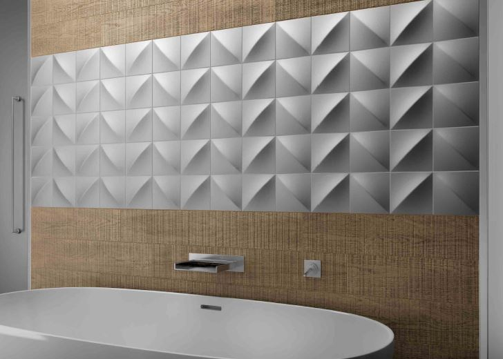 Spanish Ceramic Wall Tiles Slate Acero 148x148