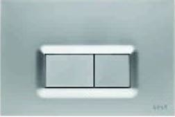 Vitra Flush Plates - Actuator Plate 7400685IND ABS Matt Chrome