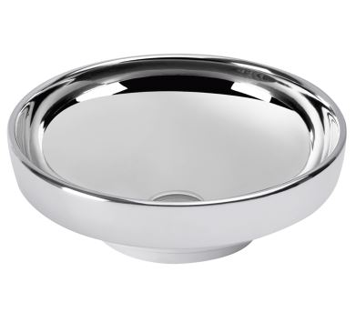 Vitra Wash Basin Bowl Water Jewels Platinum 40