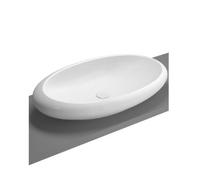Vitra Wash Basin Over Counter Oval Instanbul 85