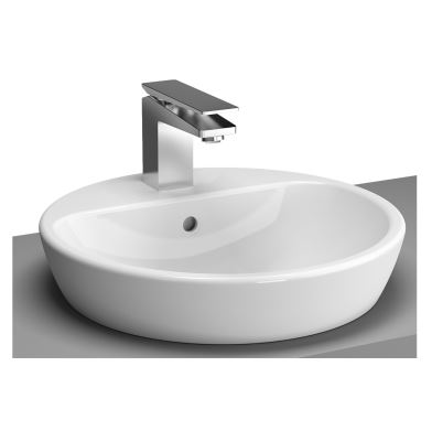Vitra Wash Basin Over Counter Round Metropole 45